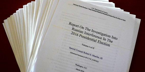 Usa: les democrates vont lire a haute voix le rapport mueller[reuters.com]