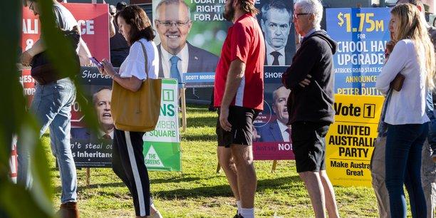 Elections legislatives en australie, les travaillistes favoris[reuters.com]