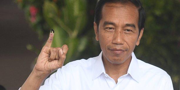 Le president indonesien widodo reelu avec 55,5% des voix[reuters.com]