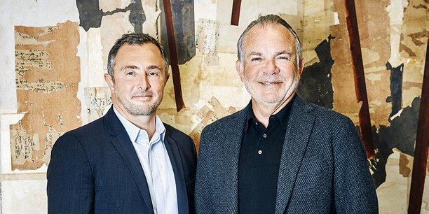 Le nouveau directeur général de Nexity Jean-Philippe Ruggieri et le président Alain Dinin.