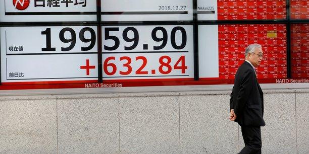 La bourse de tokyo finit peu changee[reuters.com]