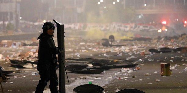 Indonesie: deux partisans presumes de l'ei parmi les emeutiers de djakarta[reuters.com]