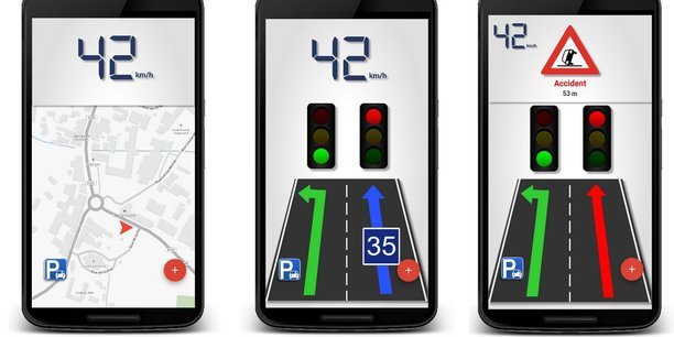 Malgré la fin du test dans le cadre d'un projet européen, l'application C The Difference est toujours disponible sous Android à Bordeaux.