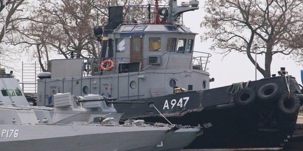 La russie refuse de liberer les marins ukrainiens qu'elle detient[reuters.com]