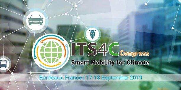 300 experts sont attendus à Bordeaux pour parler de la manière dont les transports intelligents permettront de réduire l'empreinte carbone des déplacements.