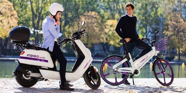Indigo Weel va déployer 200 scooters électriques en complément des 600 vélos déjà présents à Bordeaux