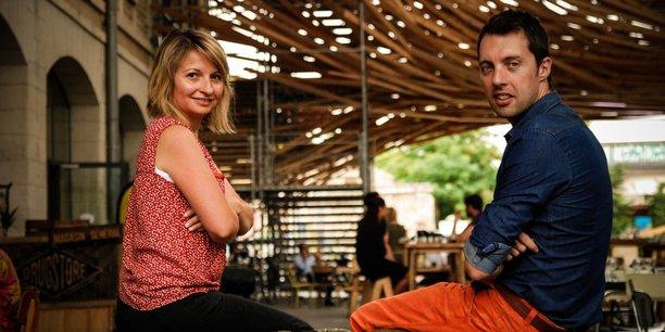 Ingrid Bergeaud, présidente, et Clément Uribe, directeur général, ont cofondé le gestionnaire de crèches privées et publiques Eponyme en 2014 à Darwin.