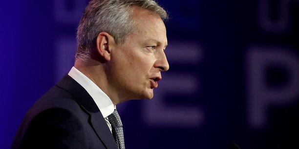 Le ministre français des Finances, Bruno Le Maire compte parmi les défenseurs e la taxe sur les transactions financières.