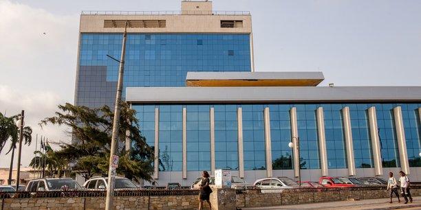 Siège de la Banque du Ghana.