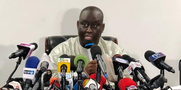 Aliou Sall lors de la conférence de presse qu'il a tenu ce lundi 3 juin à Dakar.
