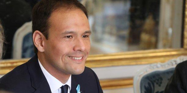 Cédric O, secrétaire d'Etat en charge du numérique, en avril dernier, à l'Elysée.