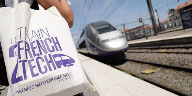 Le Train de la French Tech embarque des start-ups de la région Occitanie depuis Perpignan jusqu'à Madrid, en passant par Gérone et Barcelone.