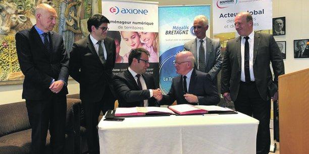 Le contrat signé représente un chantier sur huit ans.