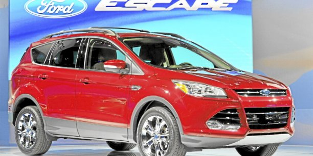 Ford Escape. Copyright Ford
