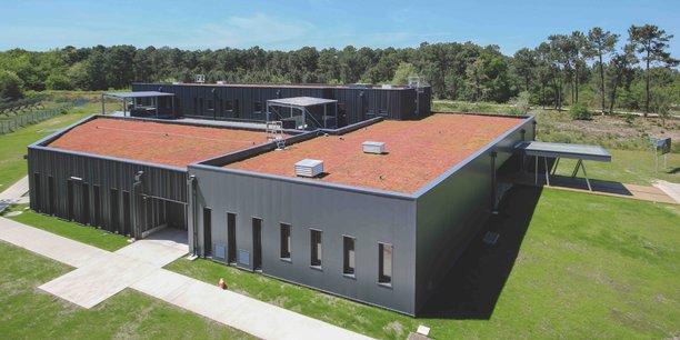 La Communauté de communes de Montesquieu vient de construire sur la Technopole le bâtiment Eurêkapôle d'une surface totale de 1.663m² pour un montant de 3,7 millions d'euros.