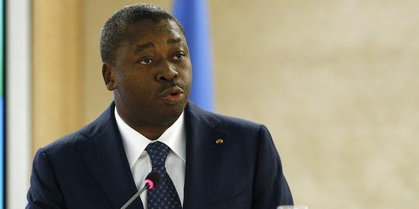 Le président Faure Gnassingbé a déclaré qu'il ne tolérera pas des manifestations avec des armes de guerre et que cela n'est toléré nulle part.