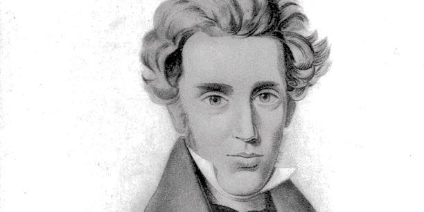 Portrait de Soren Kierkegaard.Royal Library, Denmark/Wikimedia,CC BY