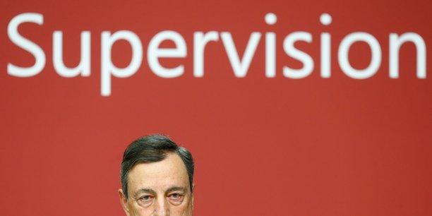 Mario Draghi, président de la Banque centrale européenne (BCE).