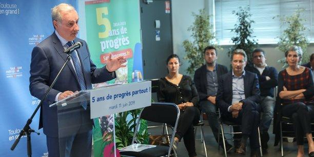 Jean-Luc Moudenc doit annoncer sa décision sur sa candidature aux prochaines élections avant Noël.
