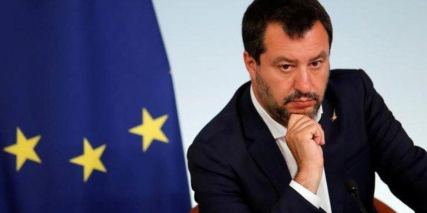 Italie: salvini propose de taxer les coffres bancaires[reuters.com]