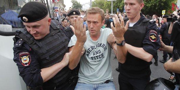 Navalny et une centaine de manifestants interpelles a moscou[reuters.com]