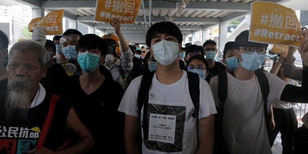 La presse officielle chinoise denonce la contestation a hong kong[reuters.com]