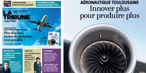 Le numéro spécial Bourget de La Tribune est en kiosque vendredi 14 juin.