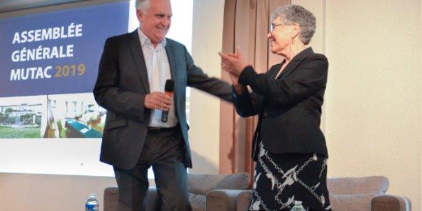 Serge Martin succède à Andrée Barbotteu à la présidence de la Mutac