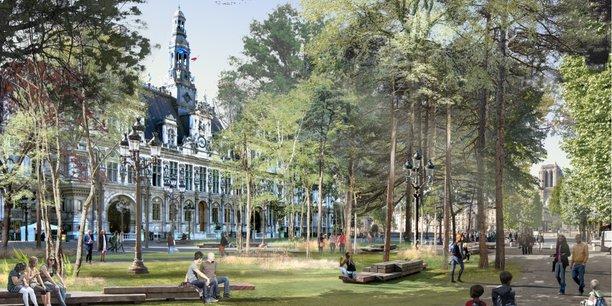 Pour Anne Hidalgo, ces quatre nouveaux sites, loin d'être un instrument électoral en vue des municipales de 2020, s'inscrivent dans la continuité d'un travail mené depuis 2014 afin de verdir Paris.