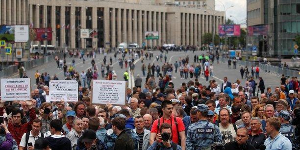 Nouvelle manifestation a moscou apres l'affaire golounov[reuters.com]