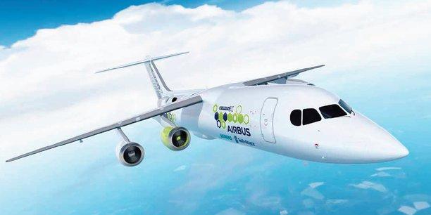 Airbus vise pour 2021 le premier vol de son E-Fan X
