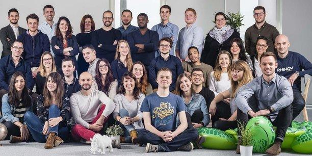 Créée en 2013, Rhinov emploie une cinquantaine de salariés à Bordeaux.