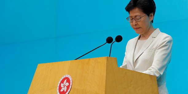 Hong kong: carrie lam dit avoir entendu le message de la population[reuters.com]