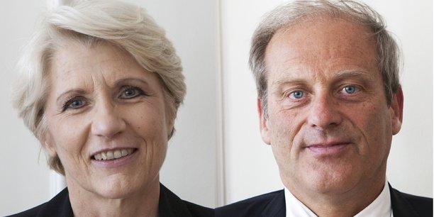 Brigitte Wartelle et Jacques Lefevre.