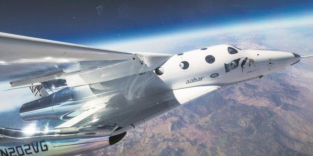 Le vaisseau SpaceShipTwo
