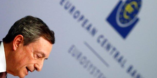 Mario Draghi, président de la BCE.