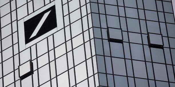 Deutsche bank, a suivre a la bourse de francfort[reuters.com]