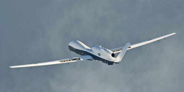 Selon un responsable américain, le drone de l'US Navy qui a été neutralisé par un missile iranien était un MQ-4C Triton (du fabricant américain Northrop Grumman).