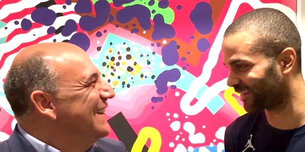 Christophe Carniel, CEO de Vogo, et Tony Parker