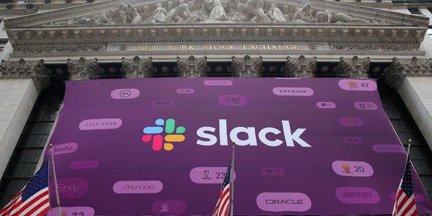 Slack est entré à la Bourse de New York par la grande porte. Sa valorisation a quasiment triplé par rapport à fin 2018.