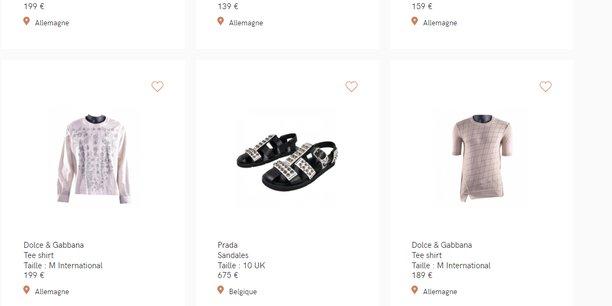 Vestiaire Collective met en relation les vendeurs de produits de luxe d'occasion avec les acheteurs.