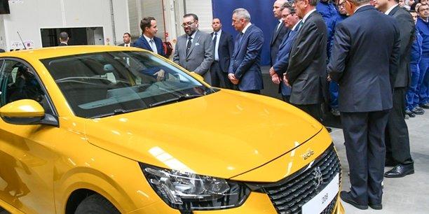 Usine PSA au Maroc : ces lignes de montage qui portent l'ambition africaine du constructeur automobile