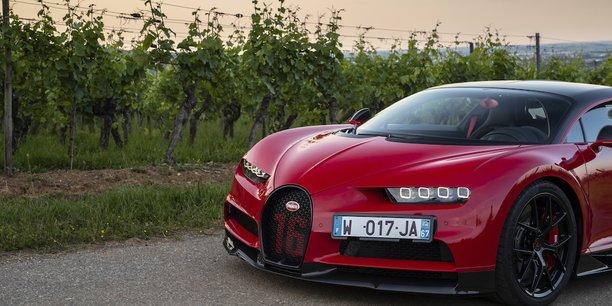 Bugatti Chiron, une version Sport qui décoiffe