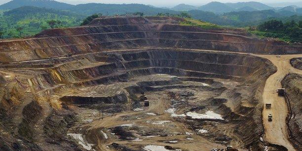 Vue de la mine de cuivre et cobalt de Tenke Fungurume, située à 110 kilomètres au nor-ouest de Lumumbashi (RDC).