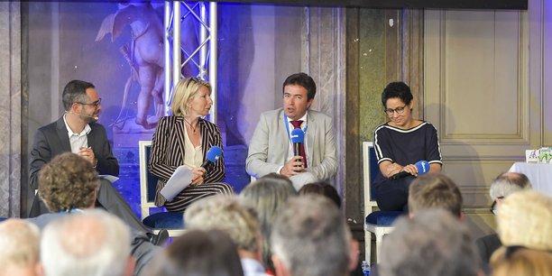 Mikaël Lozano, Emmanuelle Cuny, Philippe Morisset et Claude Terosier