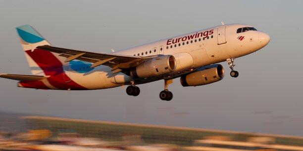 Lufthansa reorganise sa filiale a bas couts eurowings[reuters.com]