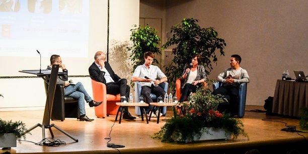 La table ronde du Bordeaux Pitch Contest 2019 portait sur l'économie des plateformes
