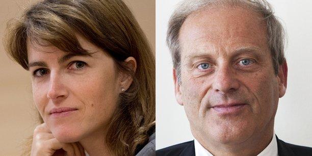 Virginie Guyot et Jacques Lefevre.