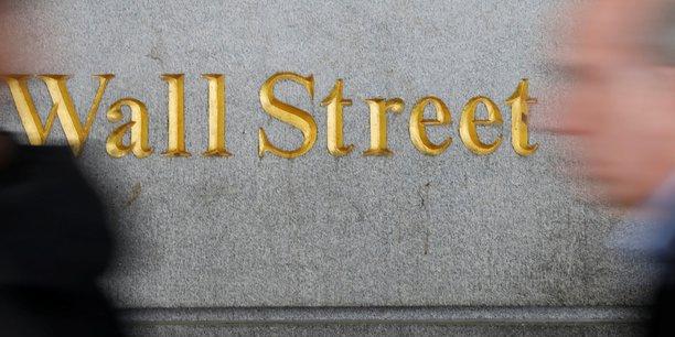 Wall street termine en baisse[reuters.com]
