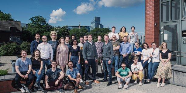 La startup Qover développe des offres d'assurance en ligne en marque blanche. Elle emploie une trentaine de collaborateurs et devrait bientôt en compter une quarantaine.
